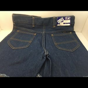 NWT Leed's Vintage High Waisted Jean Shorts